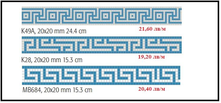 Фризове от стъклокерамика