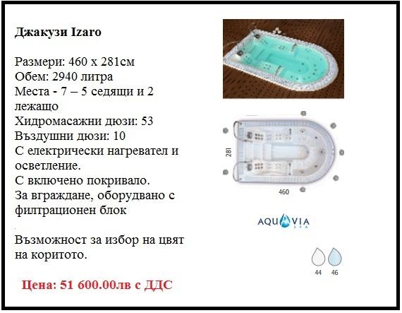 Хидромасажна вана джакузи с 7 места