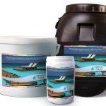 Препарати за басейн - бързоразтворим хлор на гранули за поддръжка на водата в басейна